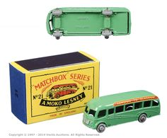 Matchbox Regular Wheels No.21A Bedford Duple Luxury Coach | Vectis Toy Auctions