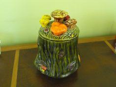 SALE Vintage California Potteries Mushroom Cookie by peacenluv72, $18.50