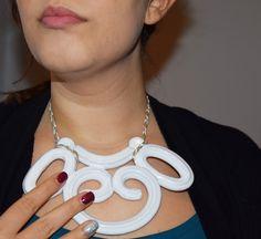 """#jpcreation e #grfdesign collaborano per """"estrosa"""", la prima collana interamente in ceramica."""