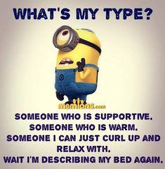 Haha yes so true. Funny Minion Memes, Minions Quotes, Funny Texts, Funny Jokes, Hilarious, Minion Humor, Funny Vid, Citation Minion, Minions Love