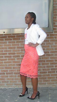 O.C. Lace Pencil Skirt   $95