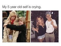 Felling Old The Suite Life of Zack & Cody ♡ Ashley Tisdale and Dylan Sprouse Sprouse Bros, Dylan Sprouse, Zack Et Cody, Old Disney Channel, Funny Memes, Hilarious, Suite Life, Disney Shows, Oui Oui