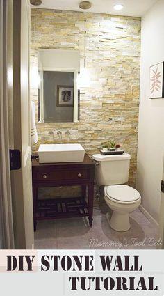 Small bathroom storage ideas ikea very small half bathroom ideas half bath renovation half baths bath . Small Half Bathrooms, Guest Bathrooms, Bathroom Renos, Basement Bathroom, Bathroom Renovations, Bathroom Ideas, Bath Ideas, Bathroom Designs, Bathroom Wall