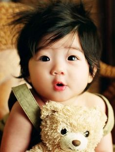 KOREAN BABY I want a cute one like this