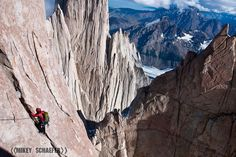 Climbing in Patagonia - on my to-make happen list