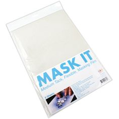 COPIC-Mask It Medium Tack Sheets. Perfect for detailed projects that require layers of color. The clear matte finish is great for tracing and works well with a light box. Simply peel off the backing,