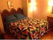 *90$/Night* 450$/week Fully Furnished 3 Beds Apartment for short term rental - situated just a few steps from St-Lawrence River and bike paths, 2min walking from bus stops, 15min by bus from Metro station Angrignon, 15min by car from Downtown Montreal, 20min from Airport. Easy access to highways 20, 40, 15. Relax after work in nature, close to the river on a quite street. This apartment is very bright and clean; recently painted; very well maintained.  All amenities to make guests feel ...