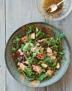 Salmon, Potato and Asparagus Salad