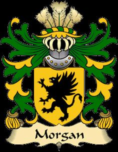 Morgan Family Crest and History