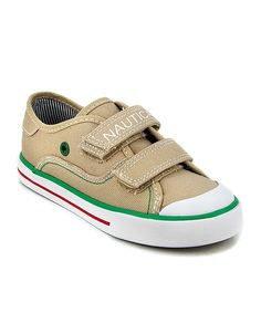 Another great find on #zulily! Tan Bobstay Sneaker by Nautica #zulilyfinds