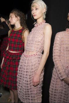 Parties — Simone Rocha Fall 2014