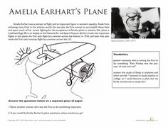 National Treasures: Amelia Earhart's Plane.....for our Amelia Earhart's biography