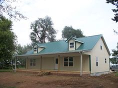 Lovely & Simple Metal Building Home of 1935 Sq. Ft. (Plan Available!)   Metal Building Homes (not a fan of the elevation!) Need to make this a 3 bed/2 1/2 bath with a large pantry http://www.metal-building-homes.com/lovely-simple-metal-building-home-of-1935-sq-ft-plan-available/