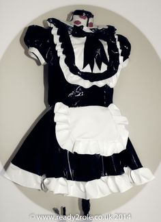 Sissy Dress CD/TV AB/Sissy Made to Measure  The Aimi  PVC Dress with Apron www.ready2role.co.uk