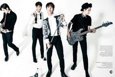 140407 CNBLUE KBS Kwave Magazine 2014 April Issue previewcr: healing_jyh
