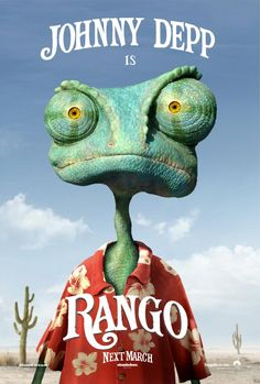 Out of the twilight zone comes this animated tale of a pet chameleon stranded in the Mojave Desert. Rango takes place in and around an Old West town populated by an assortment of animals possessing some peculiarly human traits. The loopy but lovable hero of the film, voiced by Johnny Depp, helped win the Academy Award for Best Animated Feature along with a host of other prizes for film director Gore Verbinski.