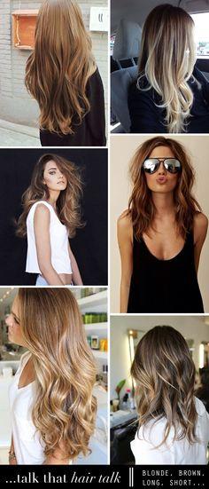 - In love with these hair colors - Jeg har ikke været til frisøren siden april, så mit hår ligner...