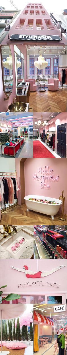PINK HOTEL by STYLE NANDA FLAGSHIP STORE in myeongdong