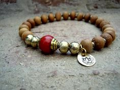 Meditation and Intuition / Aromatic Sandalwood Wrist by Syrena56, $29.00