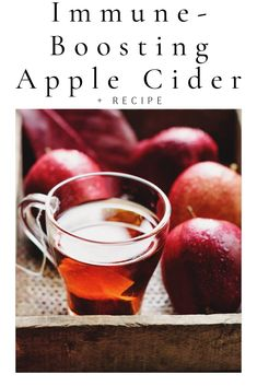 Apple Cider for Fall A healthy apple cider recipe for fall, boosting the immune system and a perfect remedy for colds and infectionsA healthy apple cider recipe for fall, boosting the immune system and a perfect remedy for colds and infections Healthy Kids, Healthy Drinks, Healthy Living, Apple Cider Uses, Anti Inflammatory Recipes, Diet And Nutrition, Fall Recipes, Immune System, Stuffed Peppers
