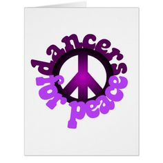 Dancers for Peace Card