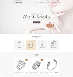 30+ Jewelry Website Themes & Templates | Free & Premium Templates