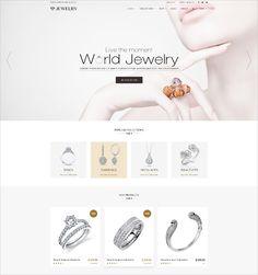 30+ Jewelry Website Themes & Templates | Free & Premium Templates