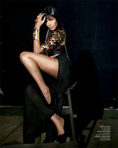 FRIEDA PINTO IS THE COVER STAR OF GRAZIA INDIA'S FIFTH ANNIVERSARY ISSUE