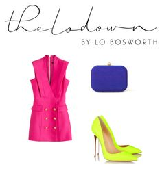 """""""Color blocking done right in NYC"""" by stylesbyfashionistalex on Polyvore"""