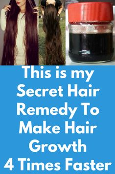 This is my Secret Hair Remedy To Make Hair Growth 4 Times Faster This is super effective remedy that will solve all your hair related issues, in just a few weeks you can see magical results This is a remedy to grow super long hair, stop hair fall, grow healthy and soft hair. this remedy will boost your hair growth, this remedy is a an extreme hair growth …