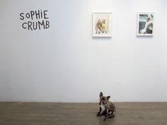"Sophie Crumb ""Models,"" 2013 and ""Underwater,"" 2014 in Sophie Crumb & Aline Kominsky-Crumb at DCKT. September 07 - October 19, 2014"