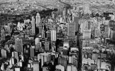 Vista aérea de São Paulo, sem registro de data. (Foto: Werner Haberkorn/Fotolabor)