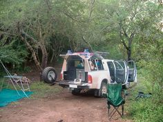 #Camping made easy with the ever versatile Toyota #Hilux