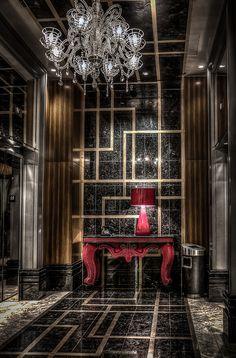 Lobby of The Cosmopolitan, Las Vegas