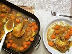 Jerk Chicken - marinierte Maispoularde - Happi mit Silberschlappi Jerk Chicken, Curry, Foodblogger, Pot Roast, Ethnic Recipes, Side Dishes, Fresh, Carne Asada