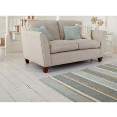£98 laura ashley Bexley Stripe Wool Rug