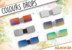 Colección Colours Drops de Kemwek