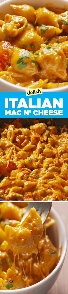Italian Mac & CheeseDelish