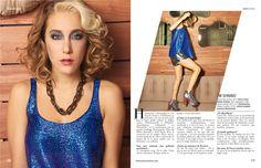 Mayo - Segui la moda. Model: Anita Pauls. Ph: Gonzalo Alipaz.