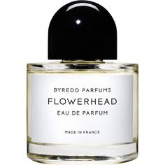 Byredo Flowerhead Eau De Parfum 50ml (545 BRL) ❤ liked on Polyvore featuring beauty products, fragrance, beauty, perfume, makeup, fillers, colorless, edp perfume, rose perfume and lemon perfume