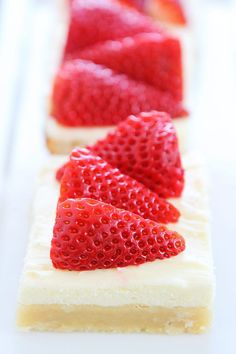 Strawberries and Cream Bars Recipe