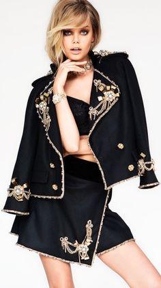 Frida Aasen for Dress to Kill Magazine Summer 2015