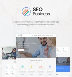 SEO Business is a Marketing Wordpress Theme that is specially created for SEO and marketing agencies, SMM and SEO specialists, copywriters and online marketing professionals and other online businesses that require a fast, optimized and search engine friendly website.