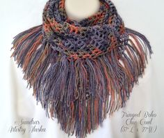 A personal favorite from my Etsy shop https://www.etsy.com/listing/291265171/fringed-boho-chic-shawl-57l-x-27w