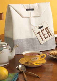 Tea Bag Cozy: Sewing Pattern | InterweaveStore.com