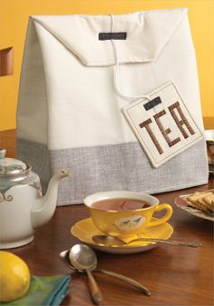 Tea Bag Cozy: Sewing Pattern | InterweaveStore.com