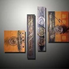 Cuadros Modernos Abstractos Minimalistas, Diseños Exclusivos - $ 900,00 en MercadoLibre