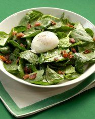 New Spinach Salad Recipe | Martha Stewart