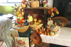 Happy Holidays: This years Thanksgiving display 2014