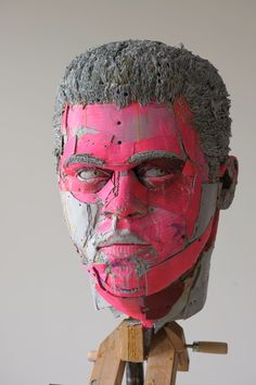 Cardboard Portraits - Scott Fife
